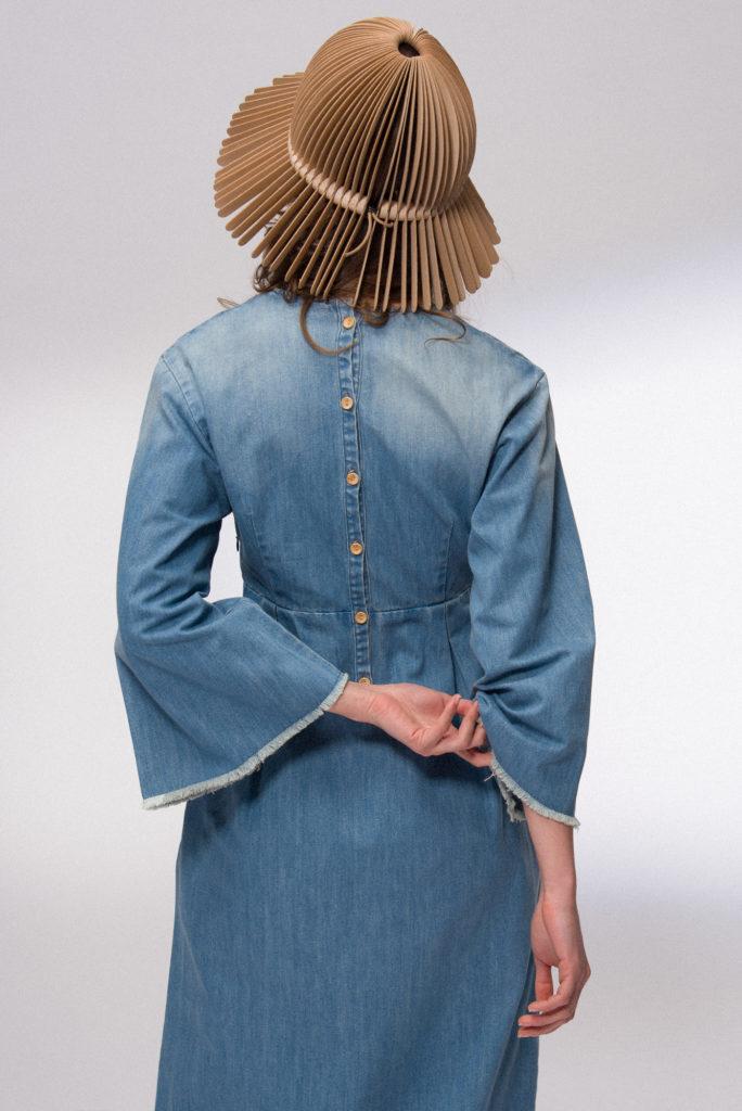 Laura Gavrilenko, MUA by Elisabeth Maurier, Hair by Justin Proctor